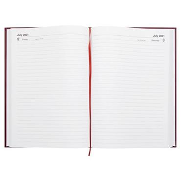 PREMIER 2021 A4 DIARY - PAGE A DAY 3 ASST