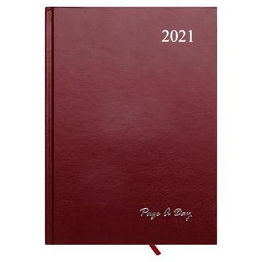 PREMIER 2021 A5 DIARY - PAGE A DAY 3 ASST