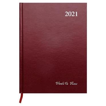 PREMIER 2021 A5 DIARY - WEEK TO VIEW 3 ASST