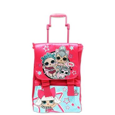 SQUARE 40cm TROLLEY BACKPACK - LOL SURPRISE