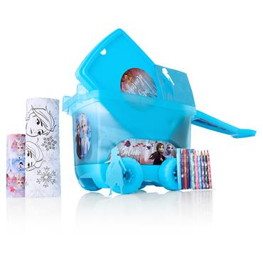TROLLEY COLOURING SET - FROZEN