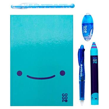 GOGOPO 7pce NOTEBOOK BUNDLE - BLUE