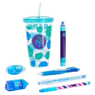 GOGOPO 8pce MILK SHAKE BUNDLE - BLUE