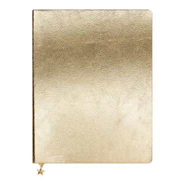 ALL THAT GLITTERS LARGE JOURNAL - GOLD METALLIC