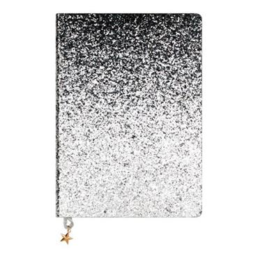 ALL THAT GLITTERS A5 JOURNAL - SILVER SEQUIN
