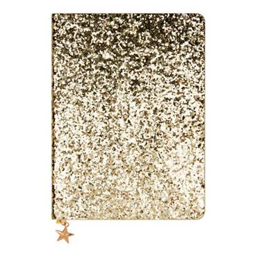 ALL THAT GLITTERS A6 JOURNAL - GOLD SEQUIN