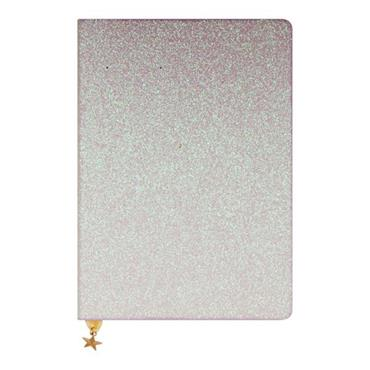 ALL THAT GLITTERS A5 JOURNAL - PINK CHAMPAGNE