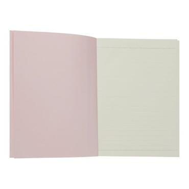 COLOURBLOCK A5 NOTEBOOK - PINK CHAMPAGNE