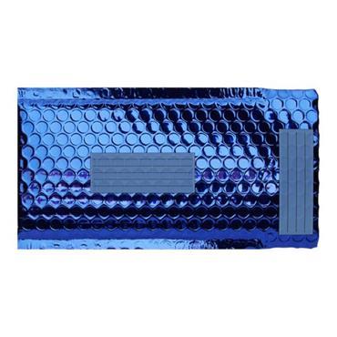 OFFICE DEPOT SIZE B 210x120mm PADDED METALLIC ENVELOPES - DARK BLUE