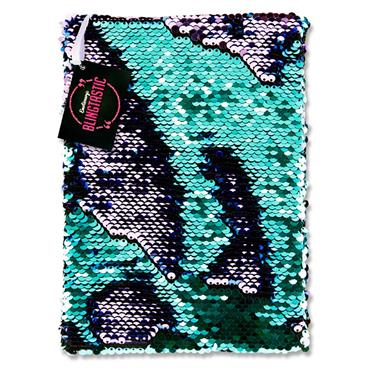 Emotionery Blingtastic A5 160pg Sequins Notebook - Mermaid Colour