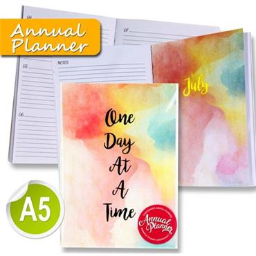 I Love Stationery A5 170pg Annual Planner Journal