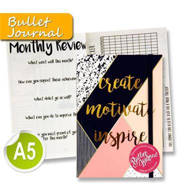 I Love Stationery A5 200pg Bullet Journal - Geometric Living