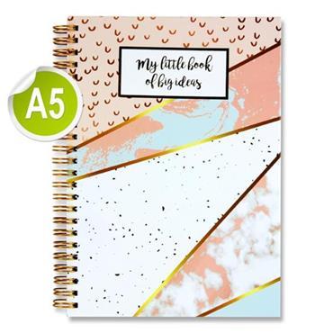 I Love Stationery A5 160pg Wiro Notebook - Big Ideas