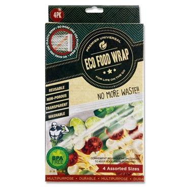 Premier Universal Box 4 Asst Eco Food Wrap Reusable Food Covers