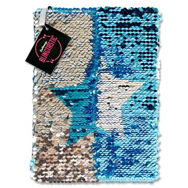 Emotionery Blingtastic A5 160pg Sequins Notebook - Star