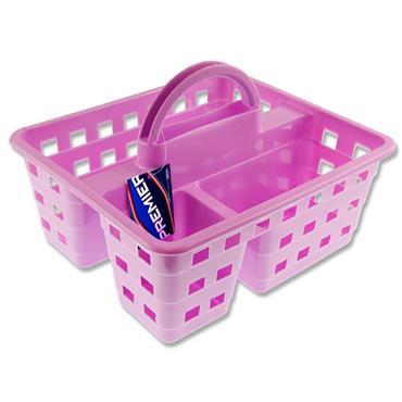 Premier Universal 245x200x100mm Storage Carry Basket - Lilac