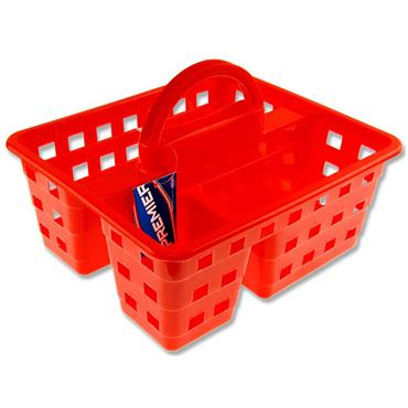 Premier Universal 245x200x100mm Storage Carry Basket - Red