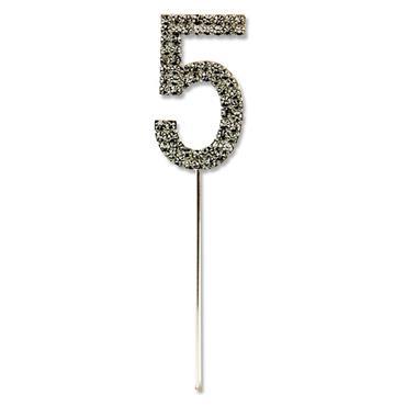 Icon Occasions 10.5cm Diamante Pick - Silver 5