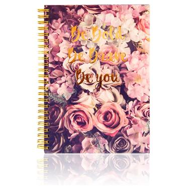 I Love Stationery A5 160pg Wiro Notebook - Roses Be You