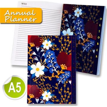 I Love Stationery A5 170pg Annual Planner Journal - Good Times Ahead
