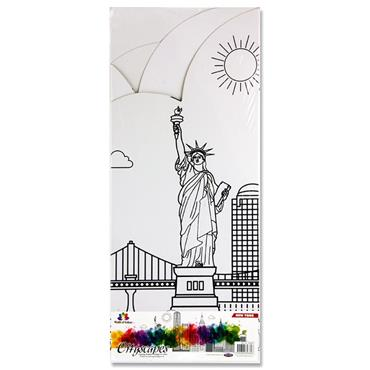 Woc Cityscapes Designs To Colour - New York