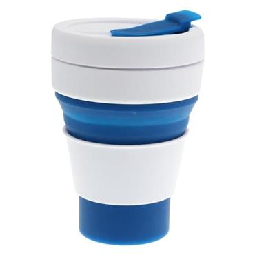 GREEN LINE 12oz COLLAPSIBLE CUP - NAVY