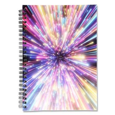 I LOVE STATIONERY A5 160pg WIRO NOTEBOOK - FIREWORKS