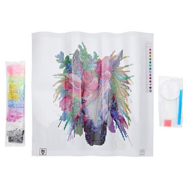 ICON DIAMOND PAINTING KIT 30x30CM - HORSE
