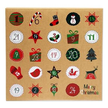 ICON CRAFT FILLABLE ADVENT CALENDAR