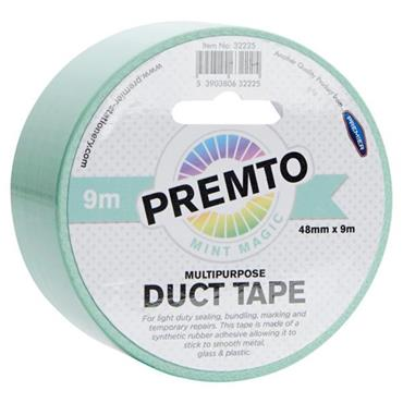 PREMTO MULTIPURPOSE DUCT TAPE 48mm x 9m - MINT MAGIC