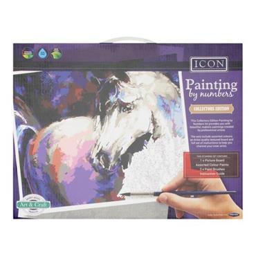 ICON PAINTING BY NUMBERS - HORSE