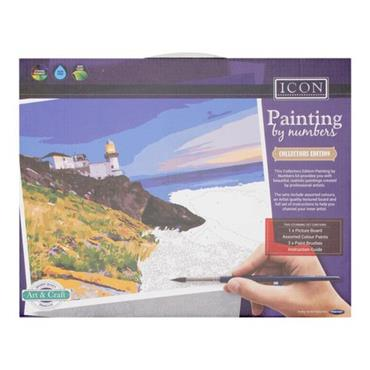 ICON PAINTING BY NUMBERS - LANDSCAPE PAINT