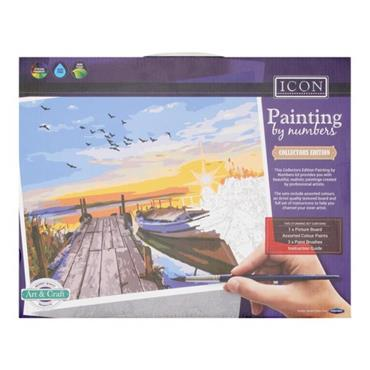 ICON PAINTING BY NUMBERS - SUNSET DREAMS