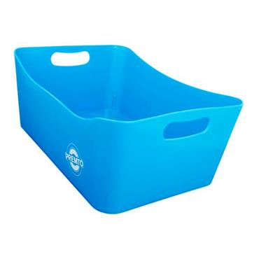 PREMTO 340x225x140mm STORAGE BASKET LARGE - PRINTER BLUE