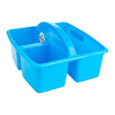 PREMTO 235x225x130mm STORAGE CARRY BASKET - PRINTER BLUE