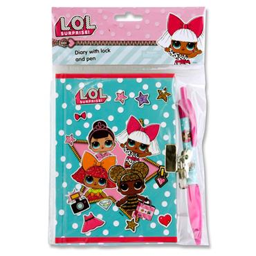 LOL SURPRISE DIARY WITH LOCK & PEN