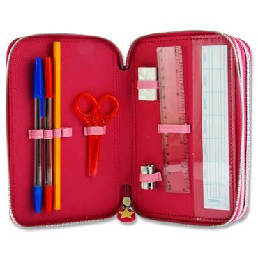 Lol Surprise 3 Tier Filled Pencil Case
