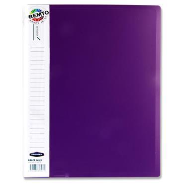 Premto A4 40 Pocket Display Book - Grape Juice