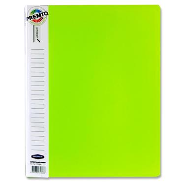 Premto A4 40 Pocket Display Book - Caterpillar Green