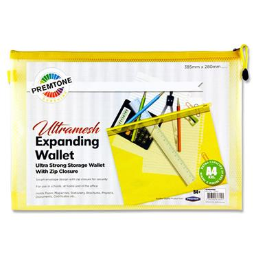 Premtone B4+ Ultramesh Expanding Wallet - Sunshine Yellow