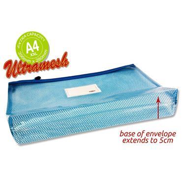 Premtone B4+ Ultramesh Expanding Wallet - Printer Blue