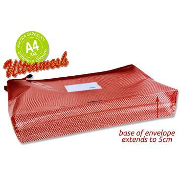 Premtone B4+ Ultramesh Expanding Wallet - Ketchup Red
