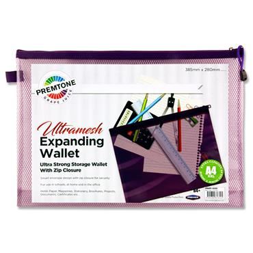 Premtone B4+ Ultramesh Expanding Wallet - Grape Juice