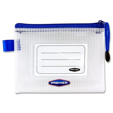 Premtone A6 Extra Durable Mesh Wallet - Clear Pearl