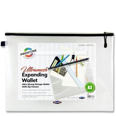 Premtone A3 Ultramesh Expanding Wallet - Pearl