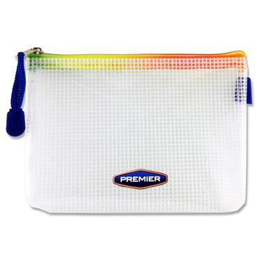 Premier Office A6+ Extra Durable Mesh Wallet - Rainbow