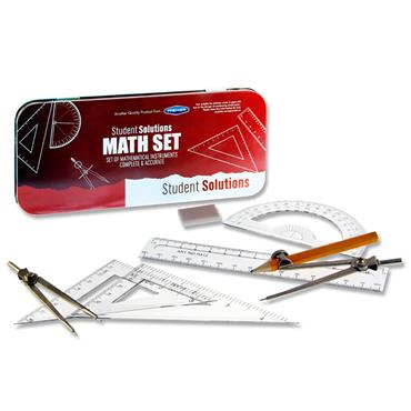 Student Solutions 8pce Maths Set - Red