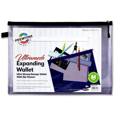 Premtone B4+ Ultramesh Expanding Wallet - Admiral Blue