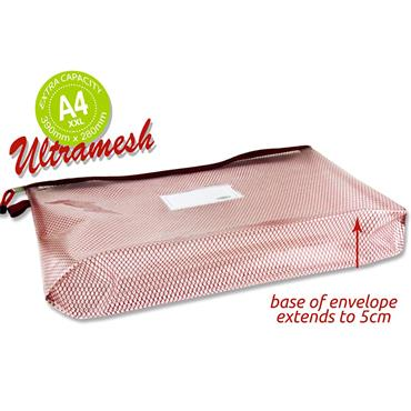 Premtone B4+ Ultramesh Expanding Wallet - Rhubarb