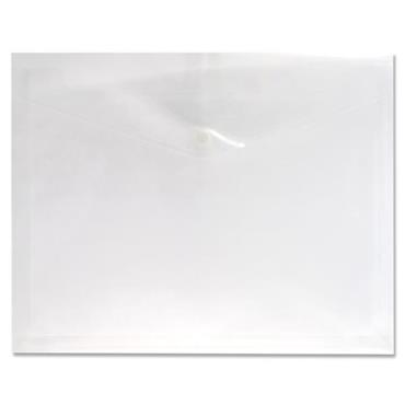 PREMTO A4 EXTRA CAPACITY DOCUMENT WALLET - CLEAR PEARL